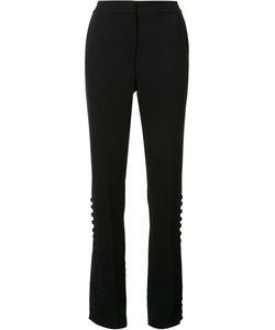 Prabal Gurung   Straight Trousers 6 Silk/Polyester