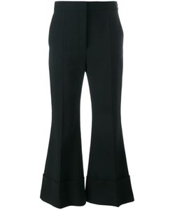 Stella Mccartney | Cropped Flared Trousers 38 Spandex/Elastane/Wool