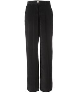 AALTO | High-Waisted Wide Leg Trousers 36 Cotton/Spandex/Elastane