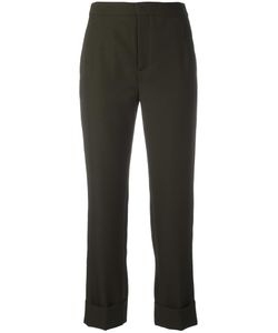 Maison Margiela | Turn-Up Cuff Trousers 40 Cotton/Virgin Wool