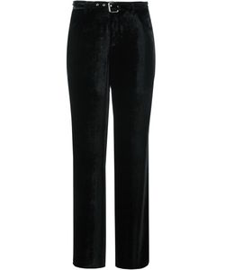 Arthur Arbesser | Belted Wide Leg Trousers 42 Silk/Polyester/Viscose