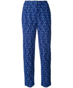 Missoni | Knitted Cropped Trousers 46 Nylon/Viscose/Wool