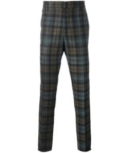 Golden Goose | Deluxe Brand Checked Trousers Medium Cotton/Polyester/Cupro/Wool