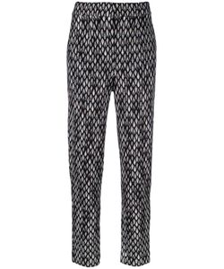 Missoni | Patterned Knitted Trousers 42 Nylon/Viscose/Wool