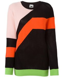 Missoni | M Colour Block Sweater 42 Polyester/Viscose/Wool
