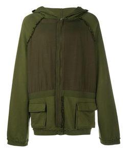 Haider Ackermann | Oversized Zipped Hoodie Xxl Cotton/Spandex/Elastane