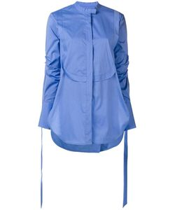 Ellery | Long Bib Shirt 12 Cotton/Polyamide/Spandex/Elastane