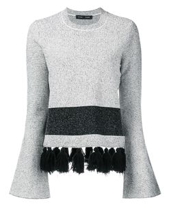 Proenza Schouler | Tassel Detail Jumper Large Cotton/Nylon/Polyester/Viscose