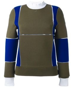 Courreges | Courrèges Panelled Colour Block Sweater 38 Polyamide/Polypropylene/Spandex/Elastane/Merino