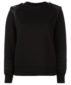 Neil Barrett | Round Neck Sweatshirt Medium Polyester/Polyurethane/Viscose