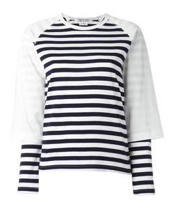 COMME DES GARCONS COMME DES GARCONS | Comme Des Garçons Comme Des Garçons Striped Sweatshirt Small