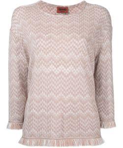 Missoni | Frayed Jumper 44 Viscose/Wool