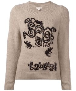 Marc Jacobs | Beaded Detail Jumper Medium Polyester/Cashmere/Wool/Glass