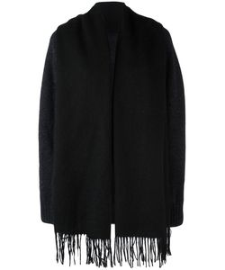 Bless | Fringed Cardigan Small Wool/Virgin Wool