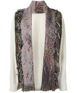 Bless | Fringed Cardigan Medium Cotton/Wool