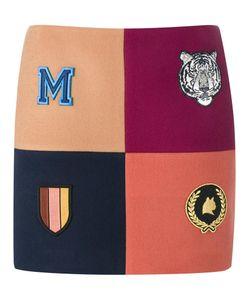 Stella Mccartney | Moana Melton Mini Skirt 44 Cotton/Polyamide/Viscose/Wool