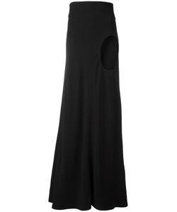Haider Ackermann   Cut-Out Detail Skirt 36 Acetate/Rayon