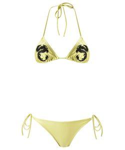 Adriana Degreas | Embroidered Bikini Set G Spandex/Elastane/Polyimide