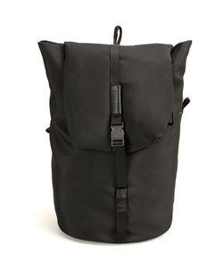 Cote & Ciel | Côte Ciel Buckled Backpack Cotton/Polyester/Polycarbonite