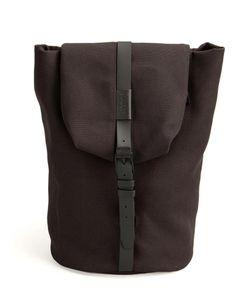 Cote & Ciel | Côte Ciel Buckled Backpack Calf Leather/Nylon/Polyester