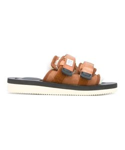 Suicoke | Moto Vm2 Sandals Adult Unisex 8 Calf Leather/Sheep
