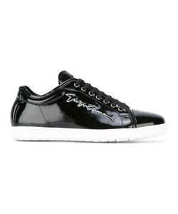 Giorgio Armani | Signature Patent Sneakers 8 Calf Leather/Rubber