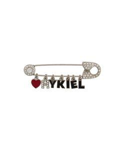 Sonia Rykiel Vintage   Logo Pin Detail Brooch