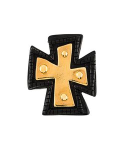 CHRISTIAN LACROIX VINTAGE | Cross Brooch Adult Unisex