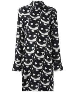 Nina Ricci | Cats Print Dress 38 Silk