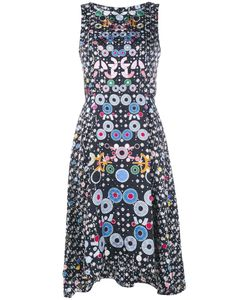 Peter Pilotto | Geometric Handkerchief Hem Dress 6 Silk/Polyester/Acetate