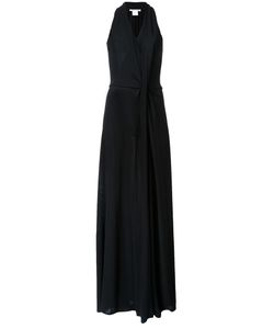 Bianca Spender | Gathered Front Floor Length Dress 12