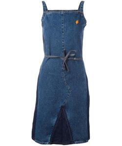 WALTER VAN BEIRENDONCK VINTAGE | Denim Spaghetti Strap Dress Small