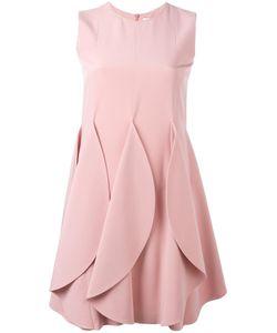 Gianluca Capannolo | Petal Effect Dress 42 Silk/Nylon