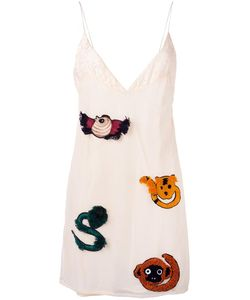 Au Jour Le Jour | Embroidered Slip Dress 42