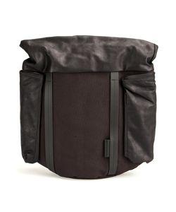 Cote & Ciel | Côte Ciel Buckled Shoulder Bag Cotton/Calf Leather/Polyester