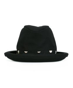 NOCTURNE 22 | Nocturne 22 Check Tie Hat Adult Unisex Cotton/Linen/Flax/Nylon/Wool