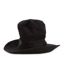 KAZUYUKI KUMAGAI | Tweed Top Hat 61 Hemp/Nylon/Wool