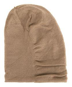 KAZUYUKI KUMAGAI | Ruched Beanie 59 Wool
