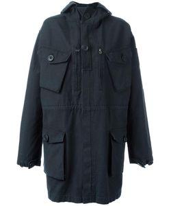 Faith Connexion | Flap Pockets Hooded Coat Medium Cotton