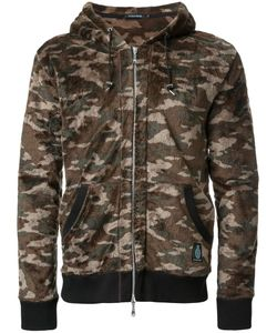 GUILD PRIME | Camouflage Print Hooded Jacket 1 Polyester
