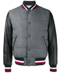 Moncler Gamme Bleu | Varsity Jacket 2 Cotton/Feather Down/Nylon/Wool