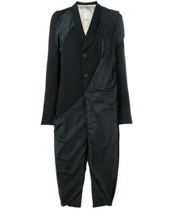 Rick Owens | Draped Coat 44 Cotton/Polyamide/Cupro/Virgin Wool