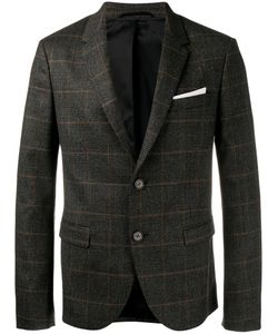 Neil Barrett | Two-Button Blazer Size 48 Polyamide/Polyester/Spandex/Elastane/Virgin Wool