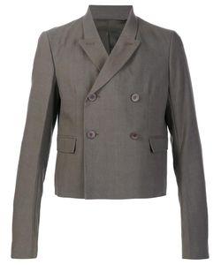 Rick Owens | Glitter Jacket 48 Cotton/Linen/Flax/Virgin Wool