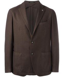 Tagliatore | Two Button Blazer 50 Cotton/Polyamide/Cashmere