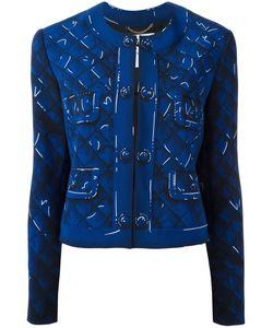 Moschino | Trompe-Loeil Jacket 42 Polyester/Rayon/Triacetate