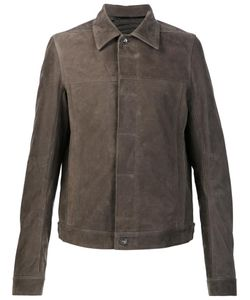 Rick Owens | Worker Jacket 52 Calf Leather/Cupro