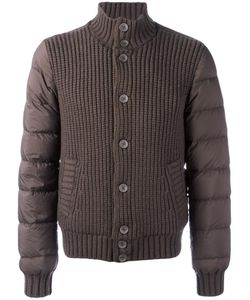 Herno | Padded Sleeves Jacket 50 Feather Down/Polyamide/Wool