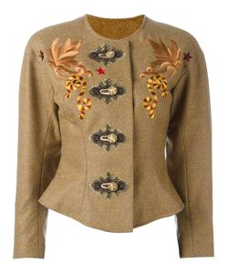 CHRISTIAN LACROIX VINTAGE | Embroidered Jacket 36
