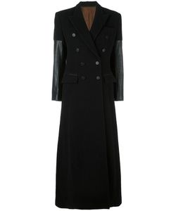 JEAN PAUL GAULTIER VINTAGE | Long Contrast Sleeve Coat 40